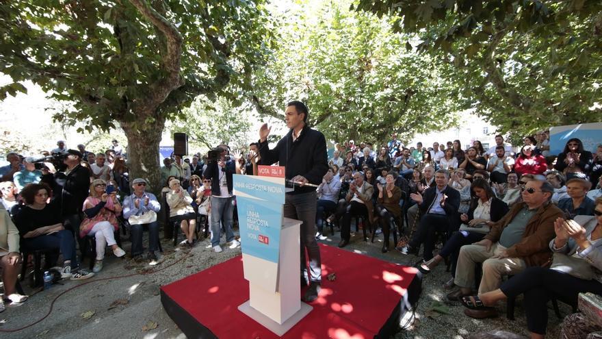 """Pedro Sánchez hace """"un llamamiento personal"""" a Iglesias y Rivera para que """"piensen bien"""" formar gobierno con él"""