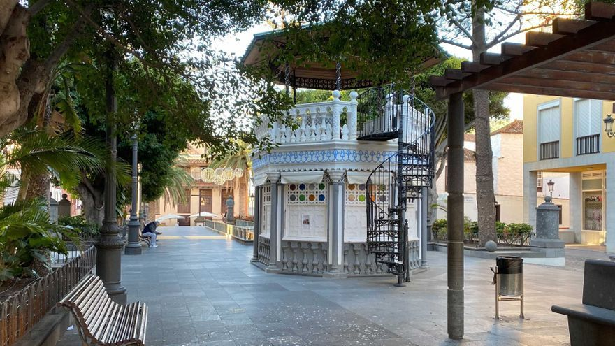 Santa Cruz de La Palma mejora la imagen de la Plaza de La Alameda