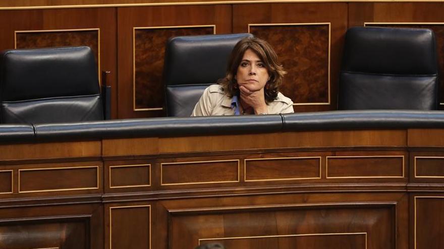 Delgado rechaza reformar el sistema de elección del CGPJ o del fiscal general