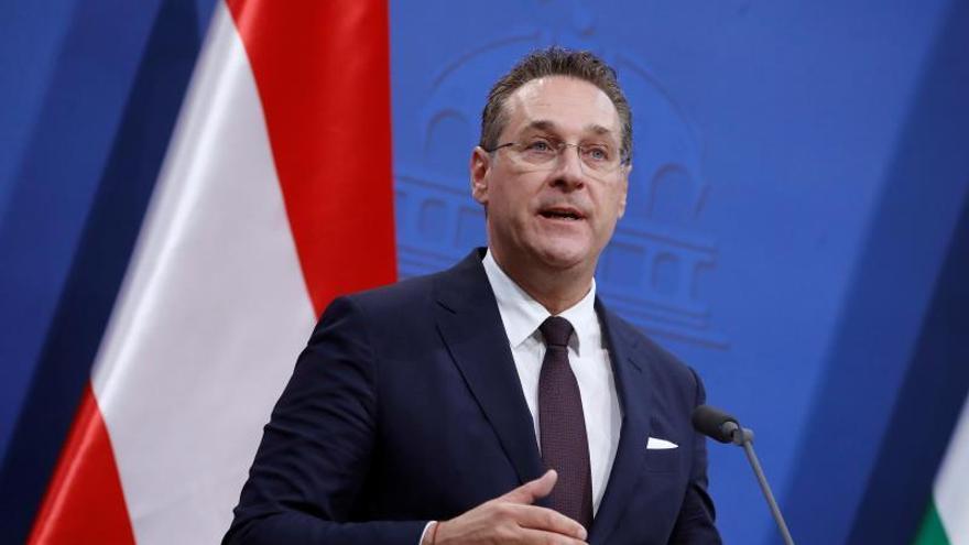Dimite el vicecanciller de Austria, el ultra Strache, tras un escándalo de corrupción