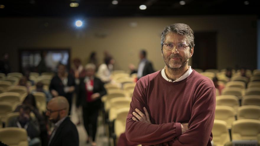 Juan Ignacio Solera, este pasado jueves en Barbastro.