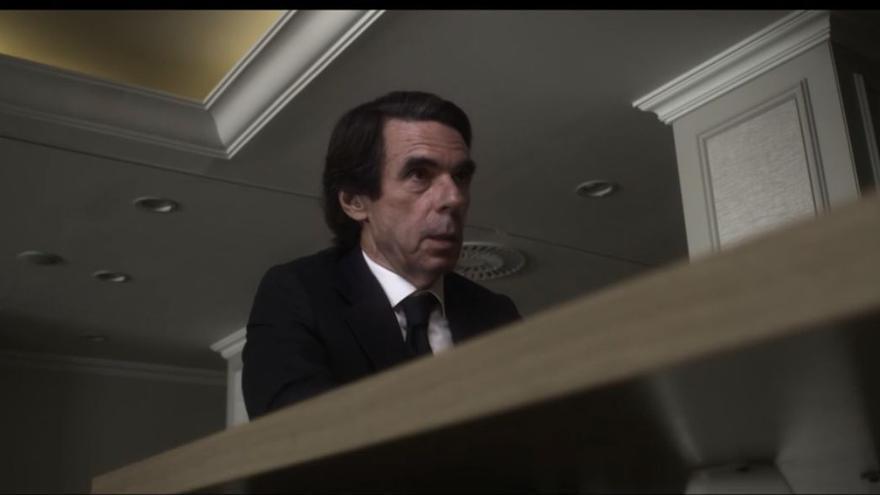 José María Aznar, en 'Lo de Évole'