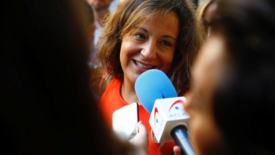 Iratxe García pide sancionar al diputado que defendió la inferioridad femenina