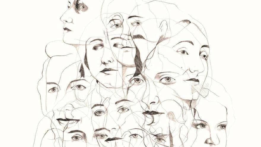 Cartel del recital 'Recuerdos de sombras'.