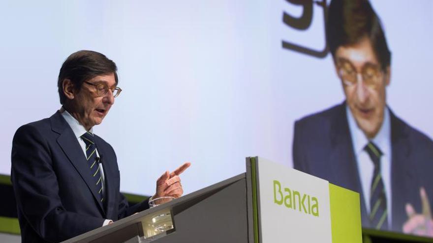 Bankia gana el 22,3 % menos hasta junio por menores operaciones financieras