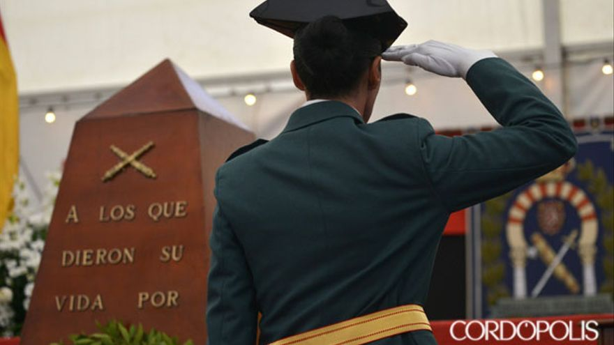 Imagen de archivo de un acto por el Día de la Guardia Civil en Córdoba | TONI BLANCO
