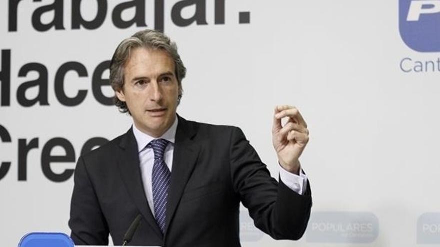 """De la Serna (PP) no pide """"altura de miras"""" al resto de partidos, sólo un """"poquito de responsabilidad"""""""