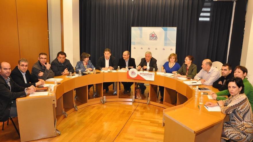 La Ejecutiva del BNG propone listas lideradas por Aymerich en Pontevedra, Tereixa Paz en Ourense y Cosme Pombo en Lugo