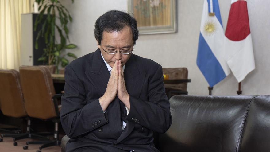 El embajador de Japón en la Argentina, Takahiro Nakamae.