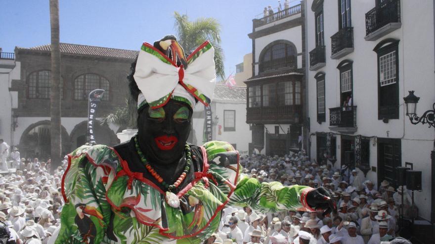 La Negra Tomasa en una imagen de archivo en la plaza de España.