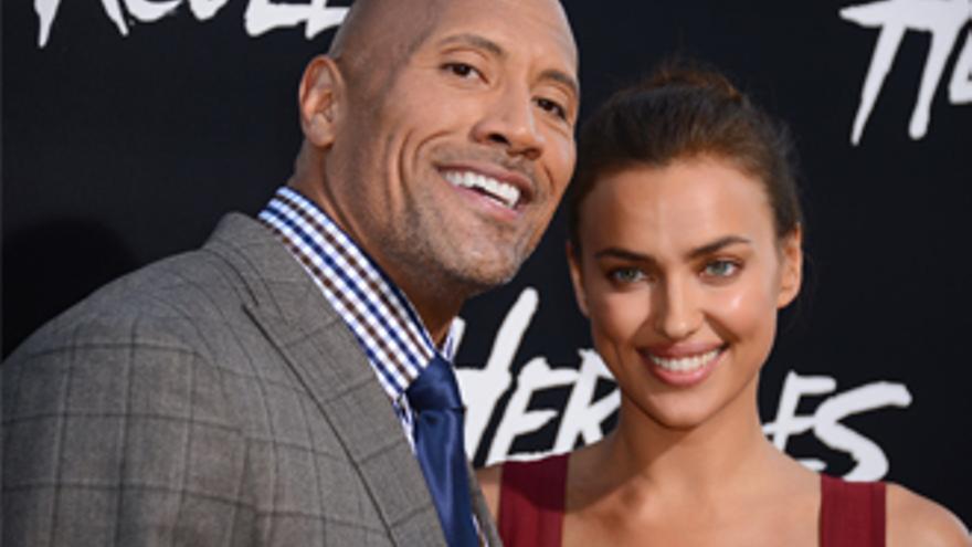 ¿Ha cambiado Irina Shayk a Cristiano Ronaldo por 'The Rock'?