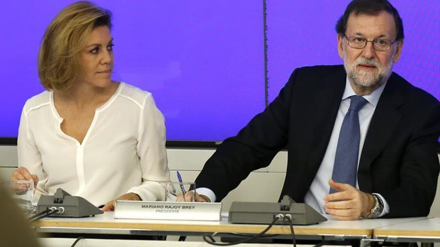 Rajoy: Sánchez quiere ser presidente del Gobierno aunque sea por un día