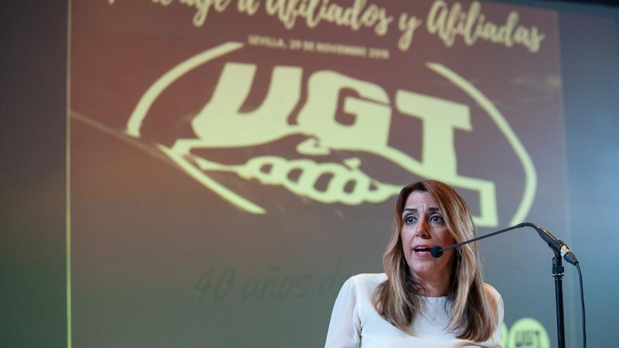 """Susana Díaz: Andalucía tiene que ser el """"dique de contención"""" de la derecha para que PSOE siga gobernando en España"""
