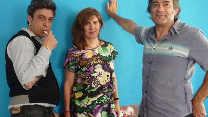 Santi, Marisa y Álvaro, fundadores del Agapo, en la actualidad | Foto: Somos Malasaña