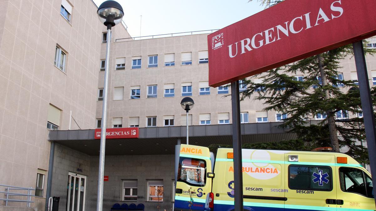 Urgencias del Hospital Virgen de la Luz de Cuenca