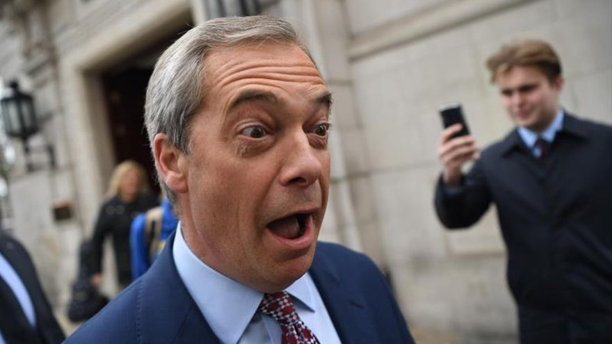 """Nigel Farage retoma la campaña en busca de """"un 'brexit' de verdad"""""""