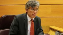 Jan Malinowski, jefe de la Sociedad de la Información del Consejo de Europa, durante la entrevista / Irene Castro