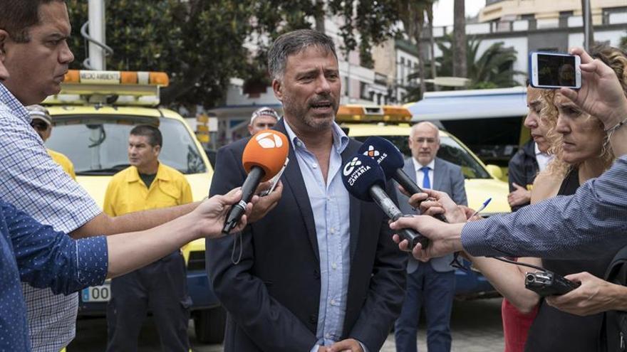 El consejero de Medio Ambiente del Cabildo de Gran Canaria, Miguel Ángel Rodríguez.