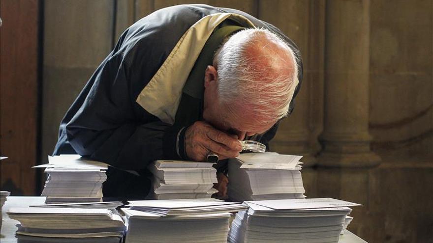 Constituidas las 8.182 mesas electorales sin incidentes remarcables