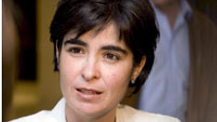 Carolina Darias, delegada del Gobierno de España.