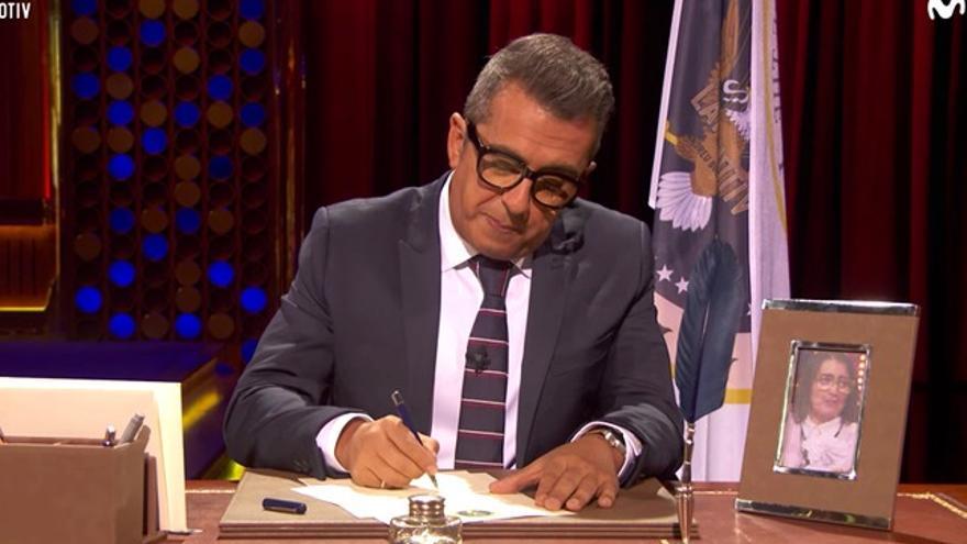Obama manda una carta de agradecimiento a Buenafuente (y no es broma)