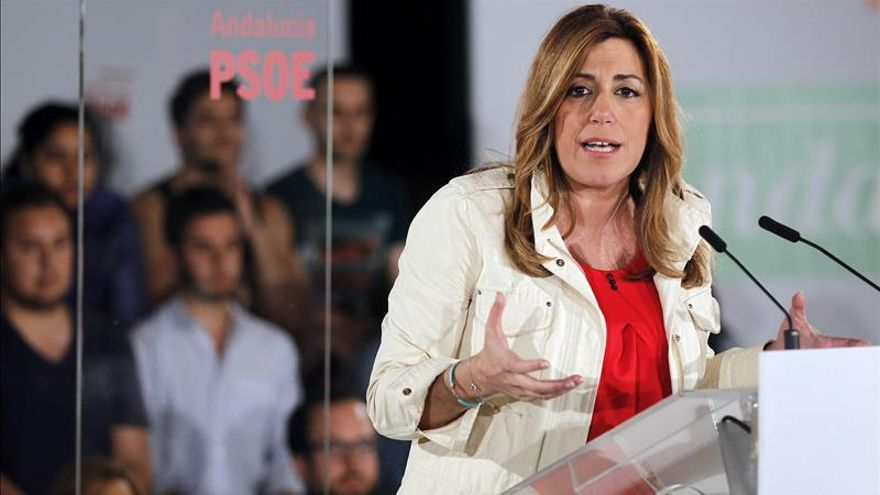 Comienza la segunda votación para la investidura de Susana Díaz