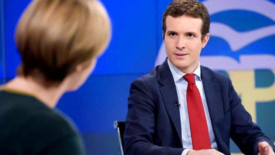 Pablo Casado, en una entrevista pasada en TVE