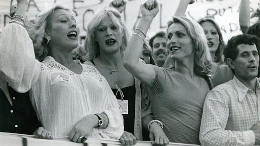 Una de las primeras manifestaciones del Orgullo celebradas en España.