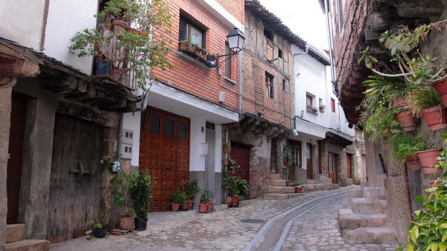 San Martín de Trevejo, uno de los pueblos en los que se habla la Fala / http://turismoextremadura.com/