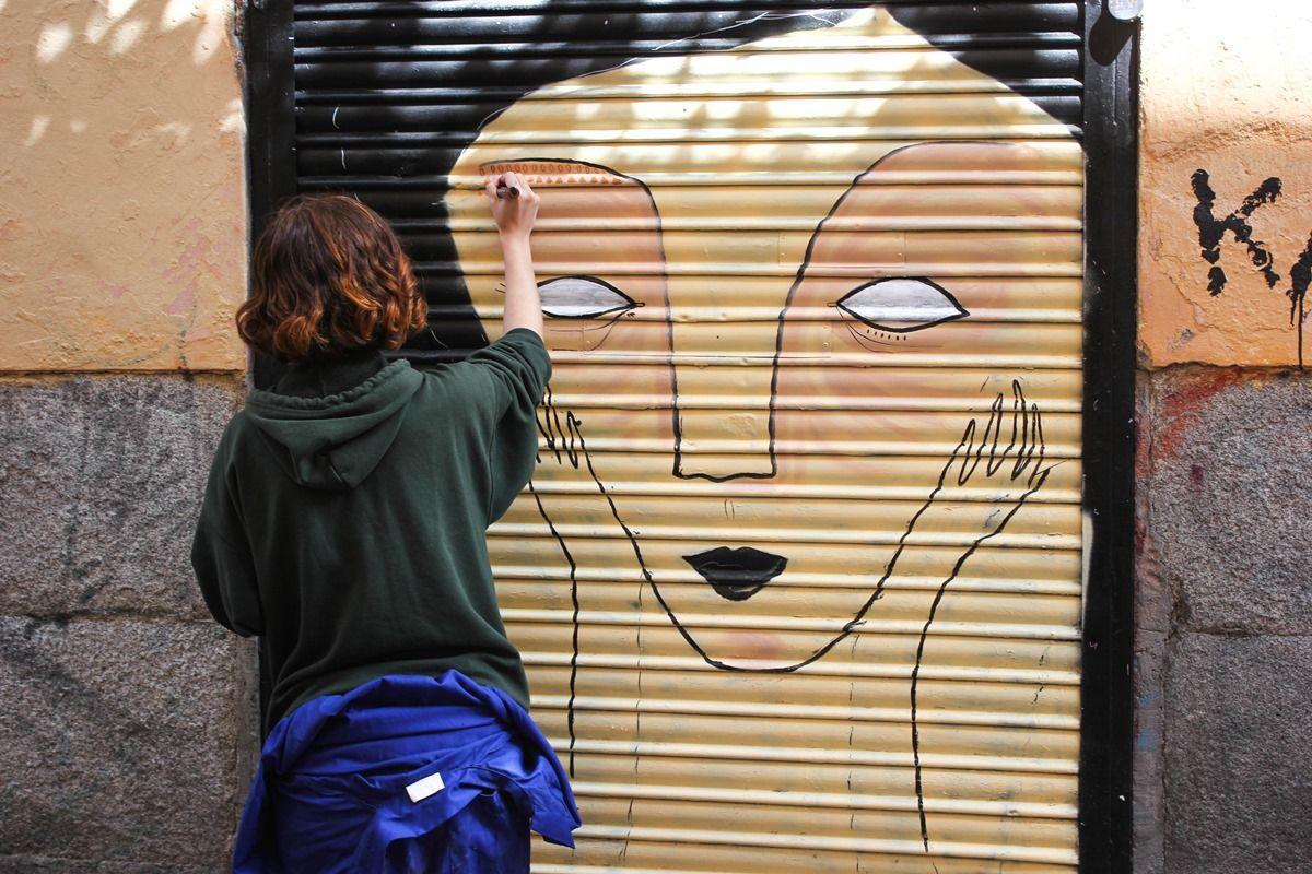 Chincheta trabajando en su obra | PATRICIA TARO