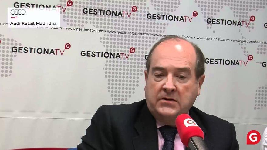 Juan Astorqui, ex director de comunicación de Caja Madrid.