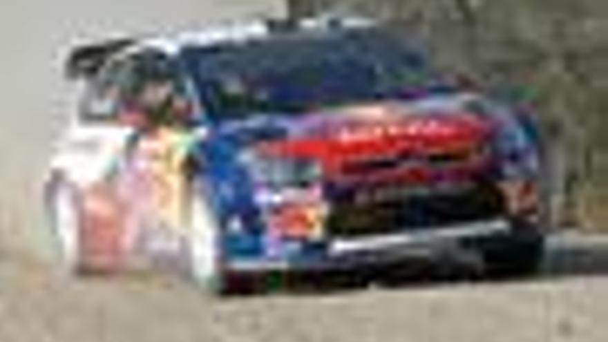 Hirvonen y Loeb se juegan el título en Gales