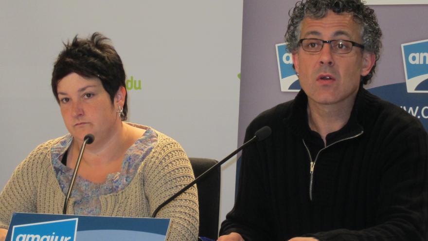 Amaiur ve desproporcionada la actuación de la Ertzaintza en Ondarroa y pide el reconocimiento de la desobediencia civil