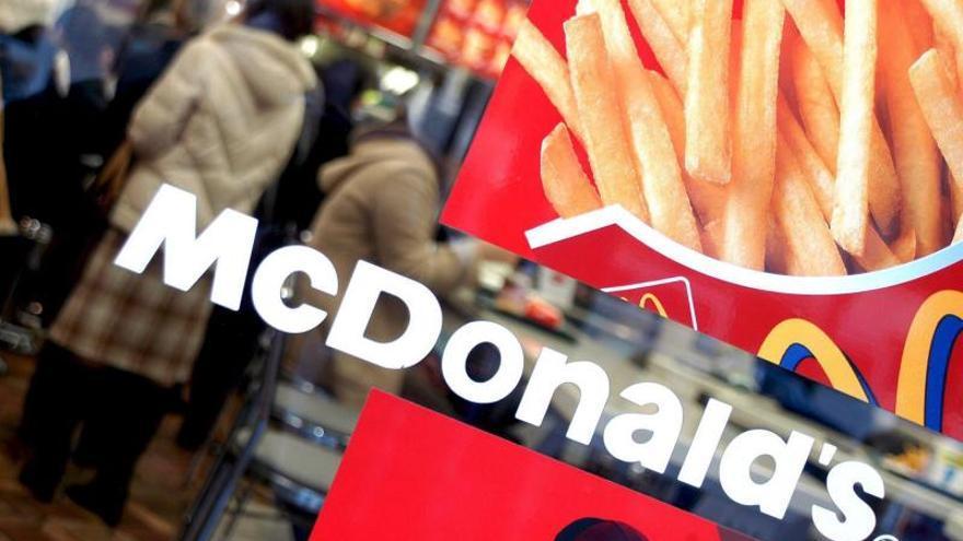 McDonald's ganó 5.585 millones de dólares en 2013, el 2 por ciento más que en 2012