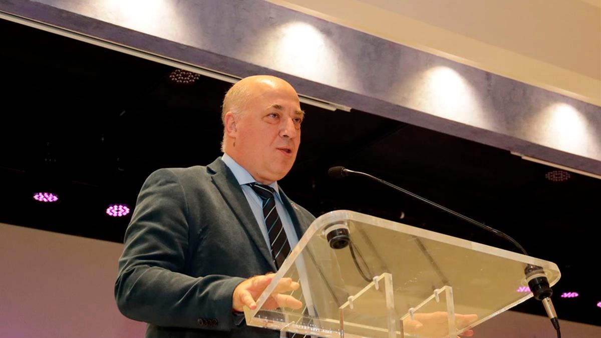 El presidente de la Diputación, Antonio Ruiz, en una imagen de archivo.