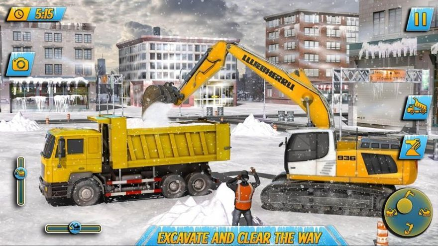 'Snow Heavy Excavator Simulator', una de las apps infectadas, supera los 10 millones de descargas.