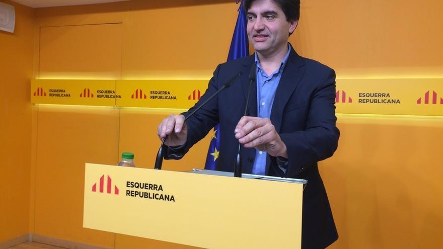 """ERC irá """"encantada"""" a hablar con Rajoy y dejar """"muy claro"""" que su proyecto, es el referéndum de independencia"""