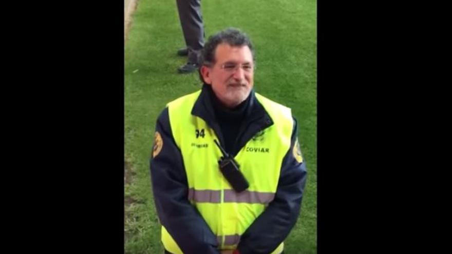 El guardia de seguridad que se parece a Rajoy