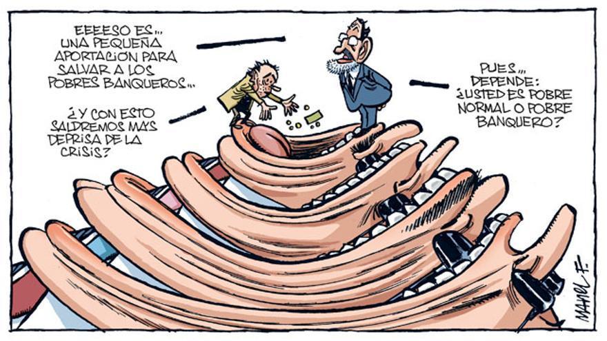Los pobres banqueros