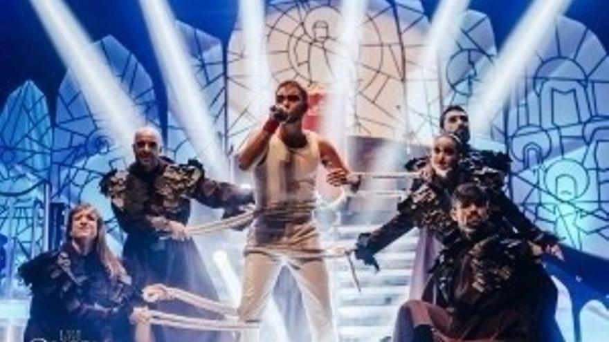 Un momento del espectáculo 'We love Queen'.