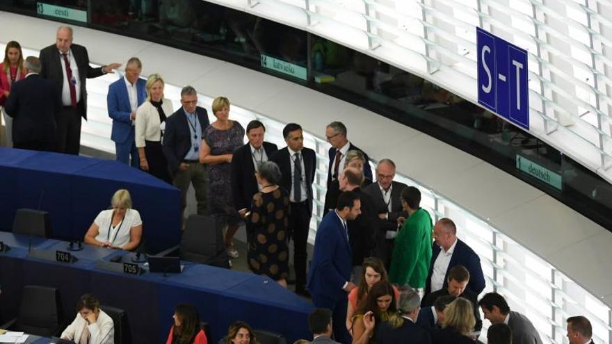 Ningún candidato a presidente logra la mayoría de la Eurocámara en la primera ronda