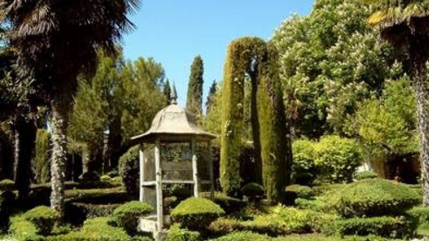 Jardines de la Real Fábrica de Paños de Brihuega