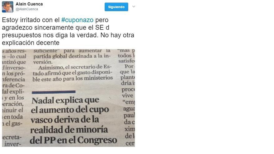Tuit Alain Cuenca