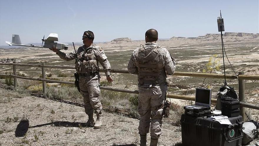 El Ejército investiga el origen del proyectil que ayer causó un herido en Navarra