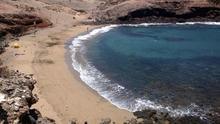 Playa de Aguadulce, en Gran Canaria.