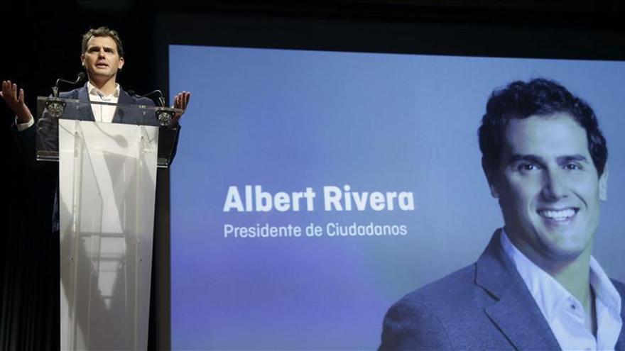 Rivera rechaza acabar como otros partidos, con cambalaches o pactos sin razón