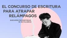 Cartel del concurso literario.