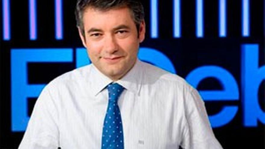Julio Soano, presentador y director de 'El Debate de La 1'. / Rtve.es