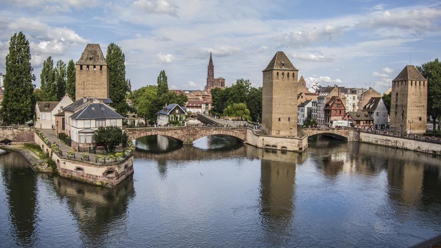 La Isla Grande desde la Presa vauban, en Estrasburgo. Stefano Merli (CC)