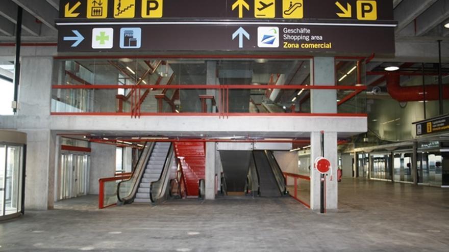 De las obras en la nueva terminal #3
